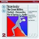 Stravinsky : L'Oiseau de feu - P�trouchka - Le Sacre du printemps - Apollon Musag�te