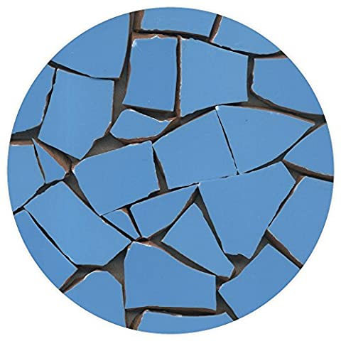 Mosaic, Broken ceramic, 20-50mm, 1kg Light blue, BB03