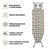 #7: Nile ironing board Demask- | Presenting you Irtish Ironing Board which is medium sized and user-friendly | It can be used on the bed | floor and dining table due to its light weight structure | iron board cover with pad | iron board at lowest price | iron board ironing table | iron board adjustable | The option of folding legs and hanging hook provide easy storage facility so once you are done ironing