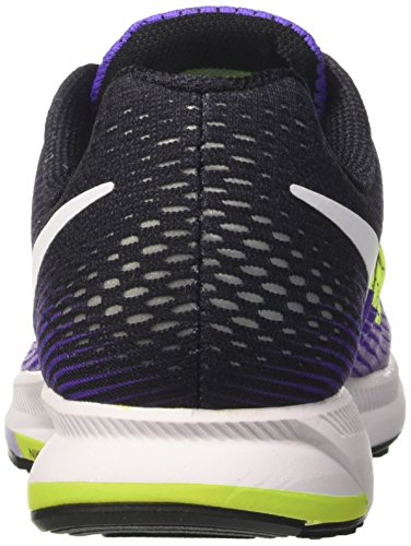 Nike Damen Air Zoom Pegasus 33 Laufschuhe Blau (Hyper Grape/white/hydrangeas/black)