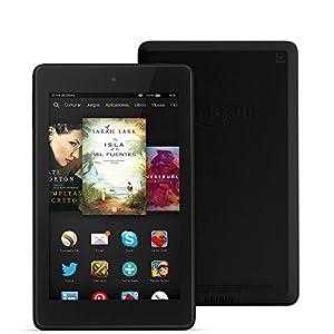 """Fire HD 6, pantalla HD de 6"""" (15,2 cm), Wi-Fi, 8 GB (Negro) - incluye ofertas especiales de Amazon"""