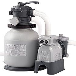 Intex 2100GPH filtro de arena Pump w/RCD (220–240V), gris, 54x 47x 59,5cm, 28646GS