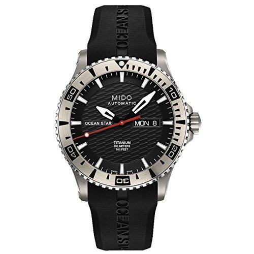 mido-herren-armbanduhr-xl-ocean-star-analog-automatik-kautschuk-m0114304705102