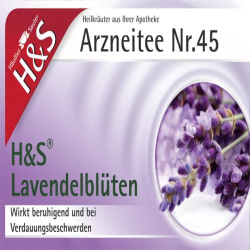 H & s fiori di lavanda sacchetto filtro 20st