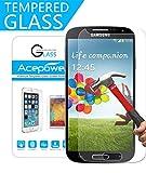 Galaxy S4 Schutzfolie, ACEPower® Gehärtetem Glas Schutzfolie Displayschutzfolie Displayschutz Screen Protector für Samsung Galaxy S4