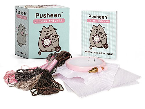 Pusheen: A Cross-Stitch Kit (RP Minis) -
