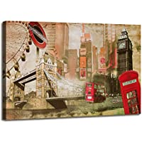 Visario 5176 - Fotografía sobre lienzo (120 cm x 80 cm), diseño de