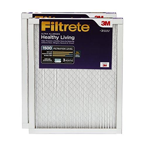 Filtrete Healthy Living Filter, UR21-2PK-6E (Elektrostatische Luftfilter)