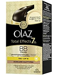 Olaz Total Effects 7-in-1 BB Cream Touch of Foundation, Medium, Pumpe, 50 ml