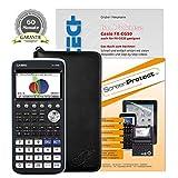 Casio FX-CG 50 + CalcCase GTR Schutztasche + Buch: Im Fokus II: FX-CG50 + Displayschutzfolie + Garantieverlängerung auf 60 Monate