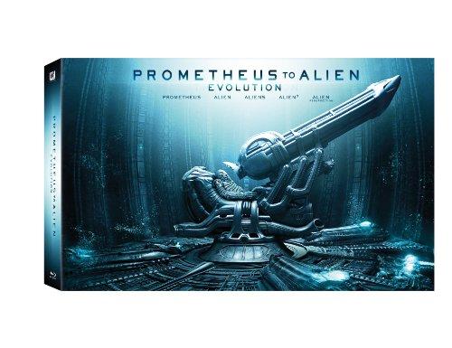 Prometheus to Alien (9 Blu-ray) - Cofanetto Deluxe