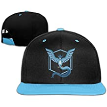 c2154d779c781 Hittings kids pokemon go pokemon team mystic articuno contrast color hip  hop béisbol hats roya lblue