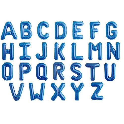 North Star - Globo azul con forma de letra (&/Azul)