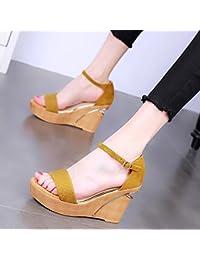 YMFIE Estate femminile nuovo stile con rivetto moda temperamento sexy open toe sandali tacco alto partito banchetti...