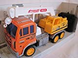 RC Ferngesteuerter Lastwagen LKW Truck Laster Baufahrzeug Auto versch. Modelle (LKW Kran Orange)