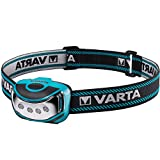 Varta 4 x 5 mm LED Outdoor Sports Head Light H10 (inkl. 3x High Energy AAA Batterien Kopfleuchte Taschenlampe...
