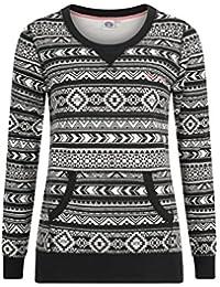 Animal Women's Ikatee Aztec Long Sleeve Sweatshirt