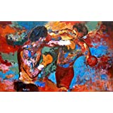 ROCKY 3 - Rocky and Apollo Creed Painting - US Imported Movie Wall Poster Print - 30CM X 43CM Balboa by Import Posters
