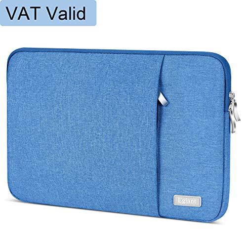 Laptop-Hülle 11,6 Zoll, Egiant Wasserfeste Schutzhülle aus Chromebook für 11,6 Zoll Stream 11 | Mac Air 11 12 Mac 12 | iPad Tablet | Surface Pro 4 5 | Chromebook 11, Notebook-Abdeckung,Blau