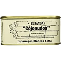 "Bujanda, Espárragos Blancos Extra""Cojonudos"", 6/8, 425 g"