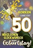 Musikkarten mit Sound Überraschung 010a zum 50. Geburtstag