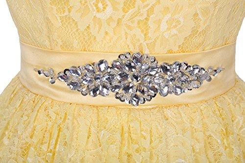 Find Dress Elégant Robe de Bal Mi Longue Princesse Cérémonie Mariage Robe Demoiselle d'Honneur Dentelle sans Manche Robe de Gala Anniversaire Fête Noel Femme Grande Taille Pourpre