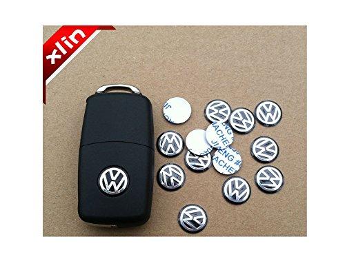 tecnostore-ns-adesivo-ricambio-logo-nero-alluminio-chiavi-telecomando-guscio