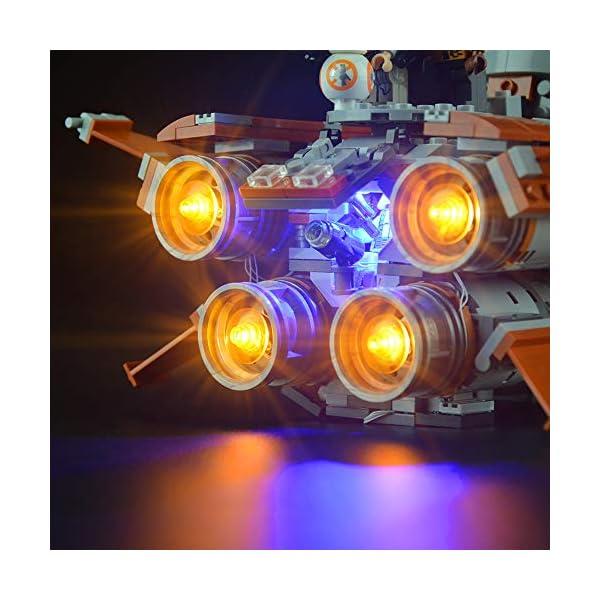 Lightailing Set di Luci per (Star Wars Quadjumper Di Jakku) Modello da costruire - Kit luce led compatibile con Lego… 4 spesavip