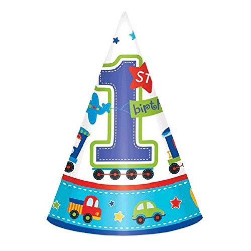 All Aboard ersten Geburtstag Kegel Hüte