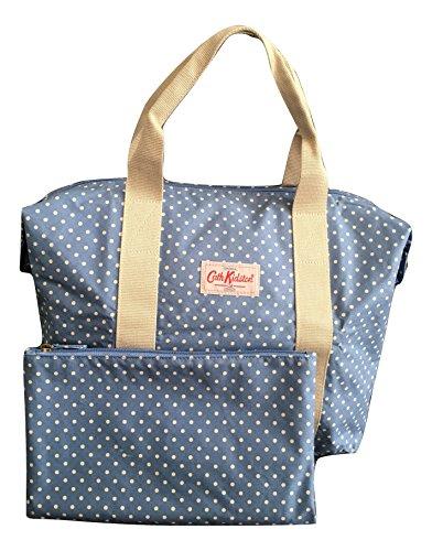 Cath Kidston Shopper Bag Foldaway Mini Dot Blue