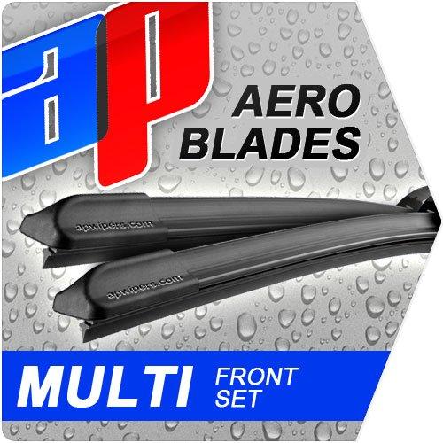 26-17-aero-flat-windscreen-front-wiper-blades-ford-focus-16-lpg-hatchback-mk-ii-2004-2013