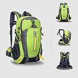 OHREX 40L impermeabile Sport Escursionismo Daypack/zaino di campeggio/ Daypack Viaggi/casual zaino per l'arrampicata all'aperto Scuola (Green) - OHREX - amazon.it