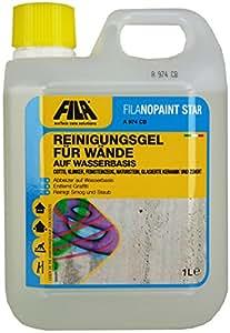 Fila filanop Ain' t Star bildschirm-reinigungsgel per pareti, rimuove graffiti e smog di Cotto, klinker, gres porcellanato, pietra naturale, in ceramica smaltata, cemento 1L. per fino a 5mq