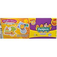 PAMPERS-PROGRÈS 140 PAMPERS COUCHES 4-9 KG TAILLE 3 MIDI 5 PENTAPACK SECOURS