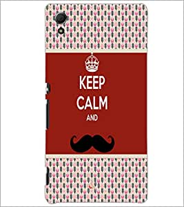 PrintDhaba Quote D-6053 Back Case Cover for SONY XPERIA Z4 (Multi-Coloured)