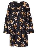 copo de nieve Damen Kleid mit farbenfrohem Print Fließend 38 by