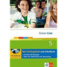 Green Line 5 - Das Trainingsbuch: 5. Lernjahr