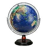 ChenYongping World Globe Globo del Mondo Illuminato (Dia 32 cm) - Decorazione Desktop educativo/geografico / Moderno gravità educativa