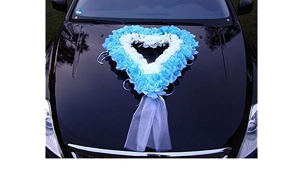 Safe Car Decoration Bride And Groom Rose Decoration Heart Wedding