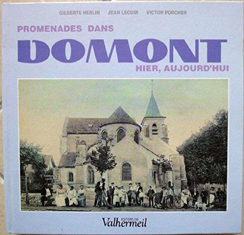 Promenades dans Domont : Hier, aujourd'hui par Gilberte Herlin