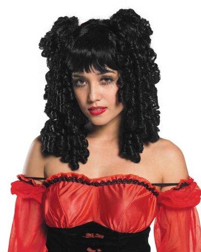 ze Perücke mit Ringellocken (Viktorianischen ära Halloween-kostüme)