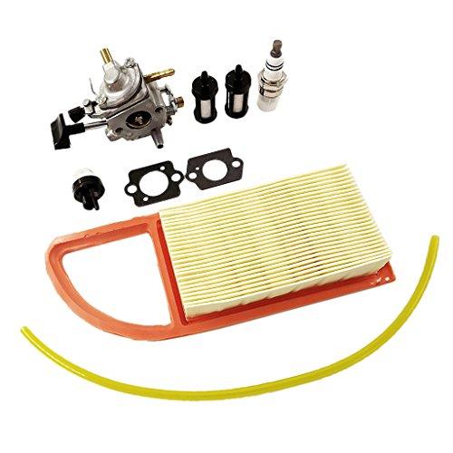 MagiDeal Vergaser Tune Fuel Line Filter Kit Für STIHL BR500 Rucksack Gebläse (Line-gebläse-kit)
