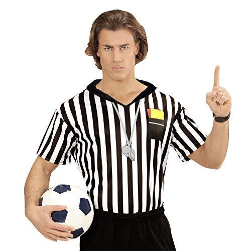 Widmann 07413 Erwachsenen Kostüm Schiedsrichter, Herren, Mehrfarbig, - Schiedsrichter T Shirts Kostüm