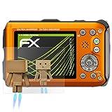 atFoliX Displayschutz für Panasonic Lumix DMC-FT4 Spiegelfolie - FX-Mirror Folie mit Spiegeleffekt