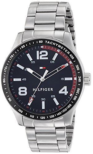 Tommy Hilfiger Analog Black Dial Men's Watch - TH1791176