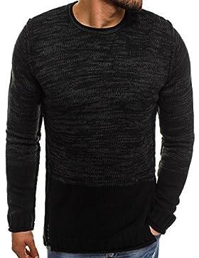 OZONEE Jersey de hombre Chaqueta De Punto Tejidos Suéter Con Capucha Camuflaje madmext 2035