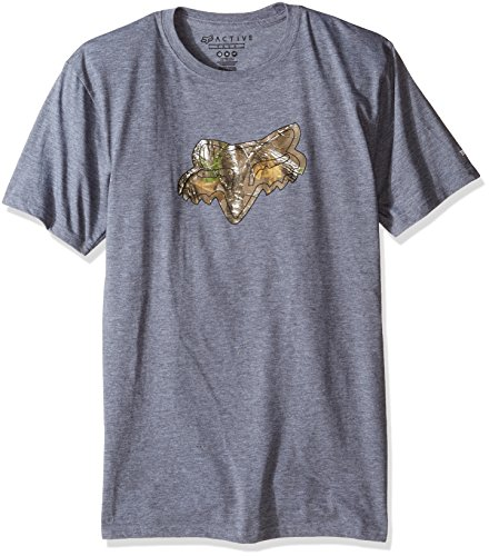 Fox - Herren Realtree Tech T-Shirt HeatherGraphite