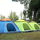 Easy Go Shopping Zelt Automatisches Zelt Anti-UV Garten Camping Angeln Picknick Camping (Farbe : Blau, Größe : 200cm*200cm*130cm)