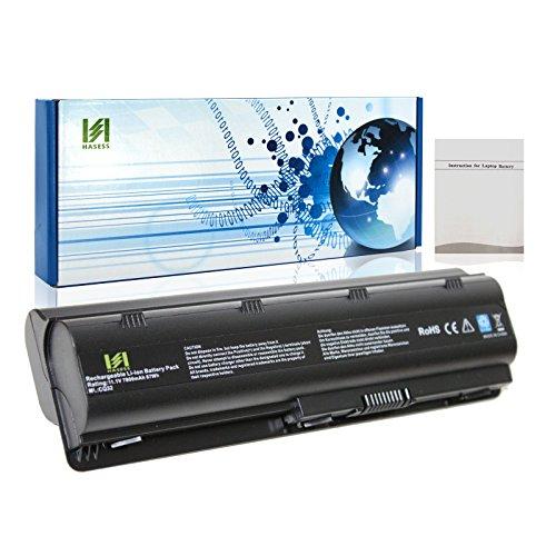 HASESS 9 Celdas 11.1V 7800mAh Repuesta Batería Portátil del Ordenador Portátil con Samsung Celdas para HP Presario CQ32 CQ42 CQ43 CQ430 CQ56 CQ62 CQ7 Envy 17; HP G32 G42 G42T Compatible con MU09 593554-001 WD548AA - 12 Meses de Garantía