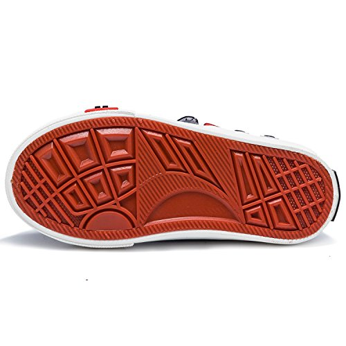 Alexis Leroy Hase Kinderschuhe Mädchen Stoffschuhe Sneakers Schwarz